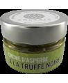 Crème d'asperge à la truffe noire