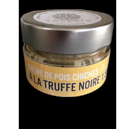 crème de pois chiche à la truffe noire boutique volabis
