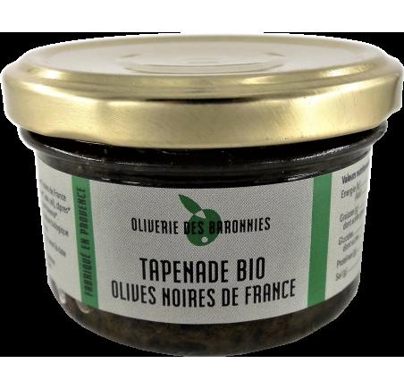 Tapenade Bio Olives noires de France